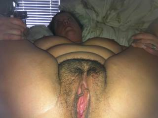 where u belong.  on your back with your pussy spread