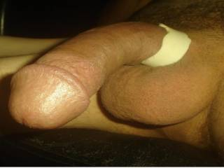 A hard cock and full balls...want some?