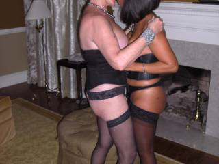 Now this is hot! and what id let my wife do, even if i was a cuckold ;) she can have a big cock but it must be married and i get to watch =) i want them out of those heels really bad, so uncomfortable and hard to fuck in ;) do you have more pics of this encounter? =) id love to see more of this friend...