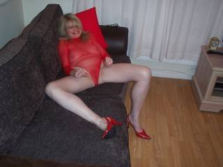 mmm - would love to have those legs wrapped round my neck as I likcked you out !