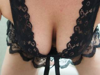 Wow gorgeous tits in horny lingerie mm