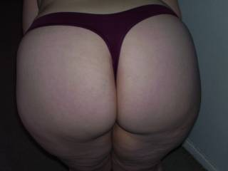 Lupo\'s wife in her new panties she wore for me before I fucked her