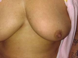 What do you think of her tits? She wants your comments.. she likes that everyone can see her tits! :)