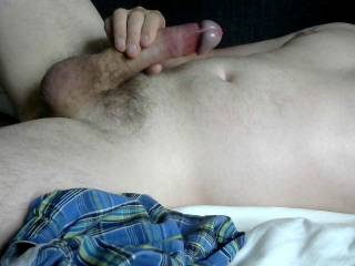 stroking the shaft