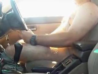 Old one of me wanking totally naked as i drive up the road.  Quite a buzz!