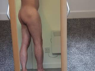 r u looking at my arse? touch it if you like