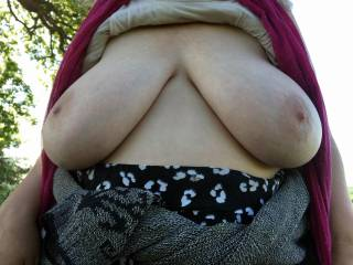 Nice weather, nice tits
