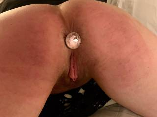 Showing off my plug, and my wet pussy! What do you think?