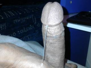 Me playing with my hard black cock while browsing through photos sent by zoig babe for me to wank and empty my hot creamy cum all over her.