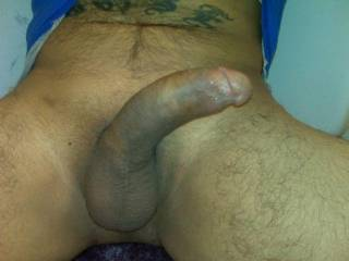 Ooooh fuck...now thats a hot cock that will make a girl wet.  I'd love to suck on that COCK.  K