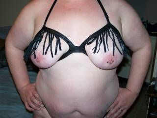 showing the bra of my new outfit you like?