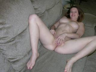 She sure is and I'd love to make her cum!