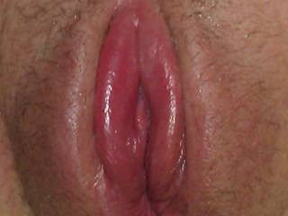 She had worked her pussy with the pump while I was in the shower.