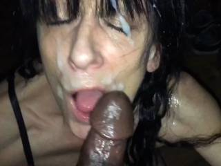 Would you like to empty your balls all over my face too guys?