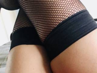 What do you think of my fishnets?x