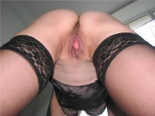 Very nice open pussy, love it when its wet...
