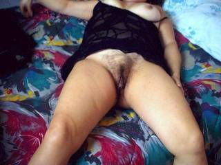 I luv that fur & see through lingerie, lets play....................  Basil