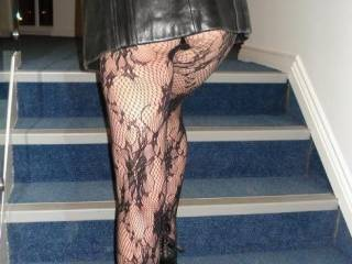 The heels are nice ,but look at those legs leading up to your sexy arse wow ! x x x