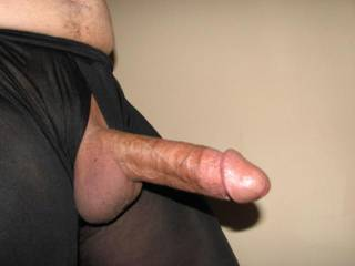 i'm horny n my pussy is wet just seeing that nice hard cock