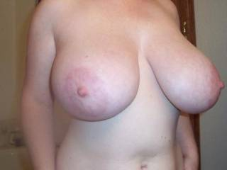 some new of my big tits...insipired by lauren tegan!