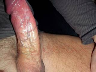 I'd love to put that cock in my mouth and swallow it all the way down to your balls.  Would you like to throat fuck me?  K