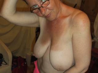 Soooooo hot and sexy, with fabulous tits a great body and eyes that could get me to steal the crown jewels!