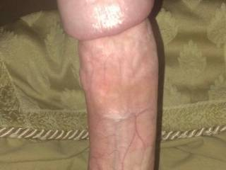 Who wants to lick that precum off my massive thick head?