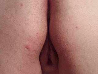just a quick fun pic of wifes pussy