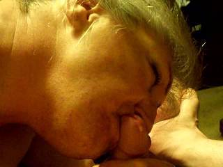 she really pulled that pre-cum out of you! Great cock sucker