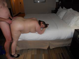 wife enjoying the anal fucking she was getting