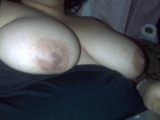 I want to suck on them they look so good! I'll be nice because they're sore