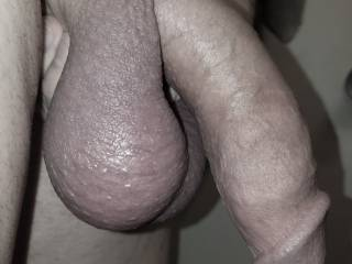 This was after saving my loads for five days. I came like a horse three times with my regular hotwife. Twice very deep inside her and once on her tits. Five days is two days too many! Torture for me and three days just about maxes out my load size.