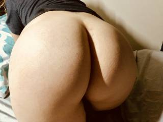 Wife's round ass