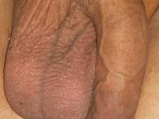 Soft cock and hanging balls