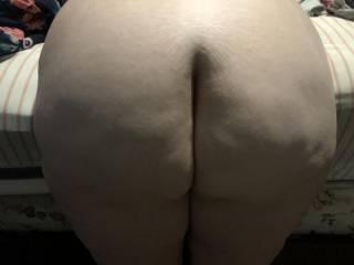 Wife bending over