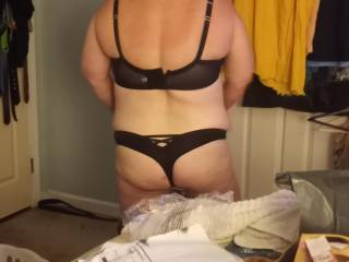 Sexy wife in New thong