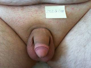 My soft cock in the morning.   I need some attention, care to help?