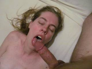 I made him pull out of my dripping wet pussy so I could get a taste of it, and damn i taste good.