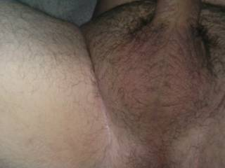 I want to suck on your balls and cock till you cum