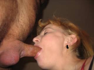 sucking my cock