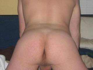 Love to slide my cock into your hot ass right now.