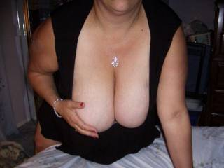 My friend wanted to share these boobs.  He wants me to fuck his wife.  What should I do?