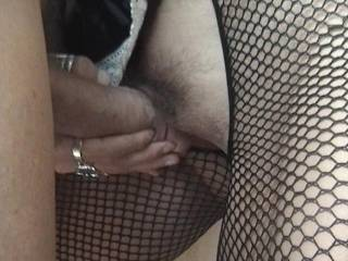 rubbing my bosses cock along my wet cunt lips, would you like me to rub your cock??