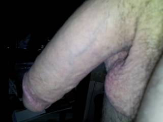 Getting ready to go deep nside a wet cunt