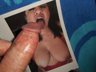 Wanting to feel Ms. Luvsumcum\'s tongue teasing under my swollen cock-head  >:)