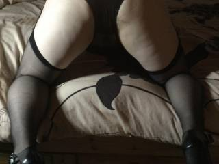 My husband says there is no zoig man on here who wouldn't want to spunk all over my black sheer knickers and stockings is that true ? I would love lots of you zoig men wanking all over me mmmmmmm