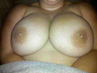more of her big gorgeous titties, everyone like?