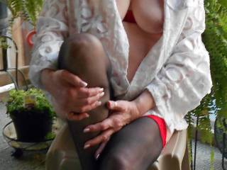 Cum join me in the garden !!!!!