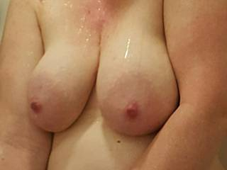 My breasts are so full right now... and my pussy is aching... who wants to nurse while you fuck me?