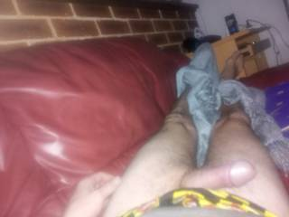 Taking more cock shots